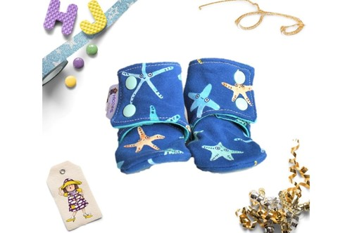 Click to order 3-6m Summer Stay on Booties Starfish now