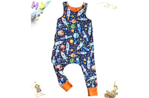 Click to order Age 2-3 Harem Romper Rockets now