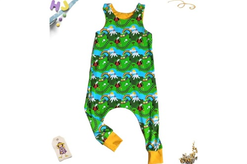 Click to order Age 2-3 Harem Romper Steaming Away now