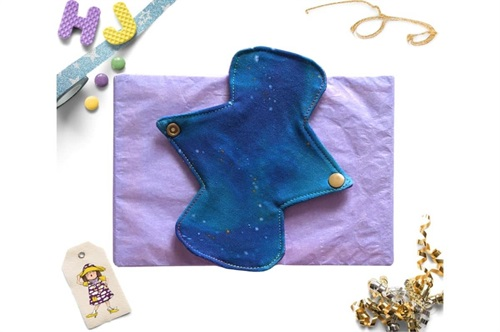 Click to order  7 inch Cloth Pad Aurora Blue now