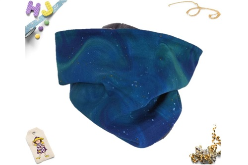 Click to order Teen-Adult Snood Aurora Blue now