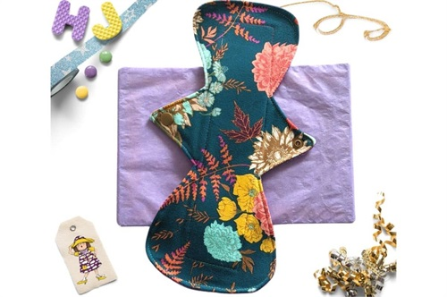 Click to order  11 inch Cloth Pad Autumn Jewel now