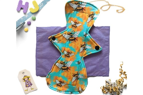 Click to order  11 inch Cloth Pad Bees now