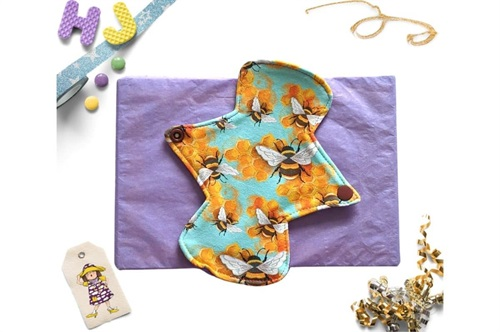Click to order  7 inch Cloth Pad Bees now
