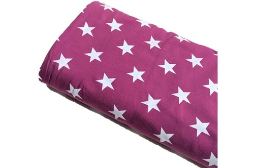 Click to order custom made items in the Berry Stars fabric