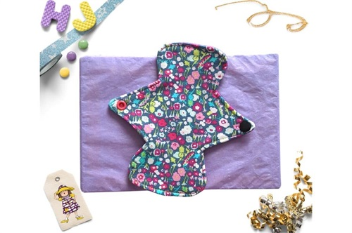 Click to order  7 inch Cloth Pad Brightly Bloom now