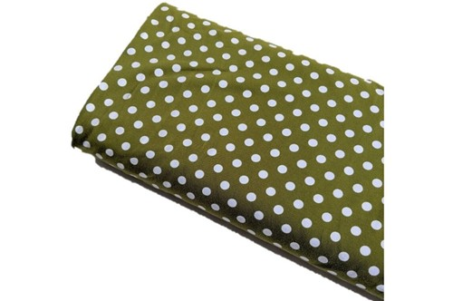 Click to order custom made items in the Chartreuse Dots fabric