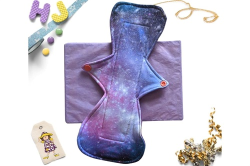 Click to order  11 inch Cloth Pad Cosmic Dreams now