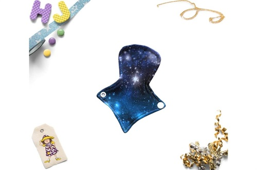 Click to order  7 inch Thong Liner Cloth Pad Cosmic Dreams now