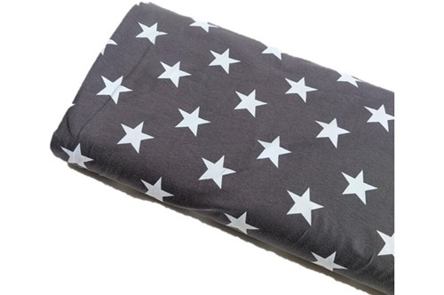 Click to order custom made items in the Dark Grey Stars fabric