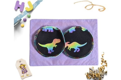 Click to order  Reusable Make Up Wipes Dino Disco now