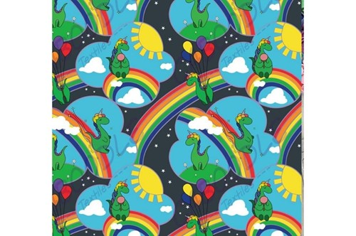Click to order custom made items in the Dinocorns fabric