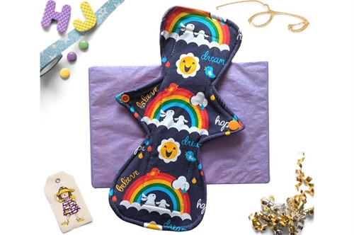 Click to order  9 inch Cloth Pad Dream Hope Believe now