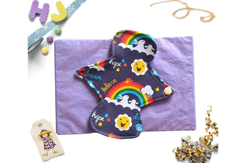 Click to order  7 inch Cloth Pad Dream Hope Believe now