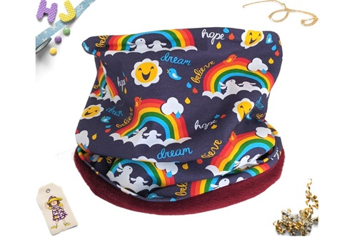 Click to order Age 4-8 Snood Dream Hope Believe now