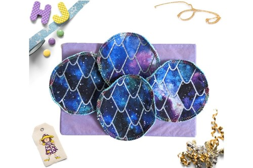 Click to order  Reusable Make Up Wipes Galaxy Scales DBP now