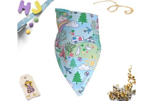Click to order  Dribble Bib Happy Camping now
