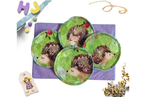 Click to order  Reusable Make Up Wipes Hedgehogs now