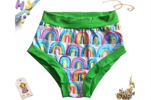 Click to order L Briefs Rainbow Rows now