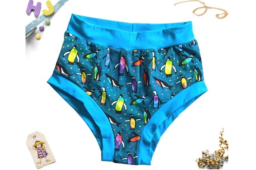 Click to order L Briefs Watercolour Penguins now