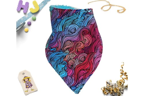 Click to order  Dribble Bib Mermaid Hair now