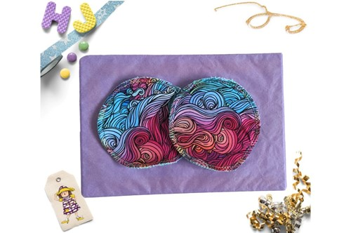 Click to order  Reusable Make Up Wipes Mermaid Hair now
