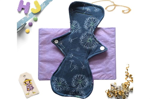 Buy  10 inch Cloth Pad Midnight Dandelion now using this page