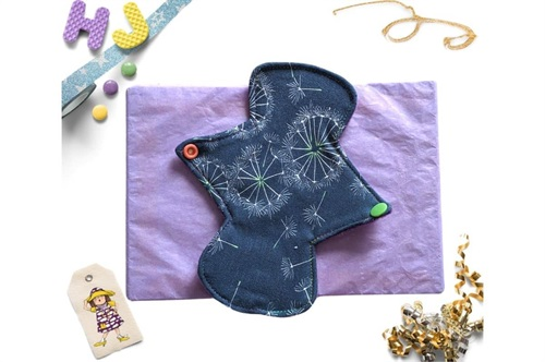Click to order  7 inch Cloth Pad Midnight Dandelion now