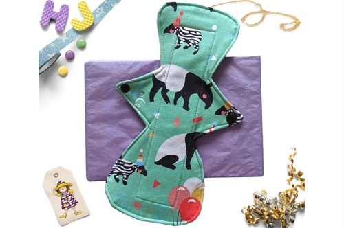 Click to order  9 inch Cloth Pad Mint Tapirs now