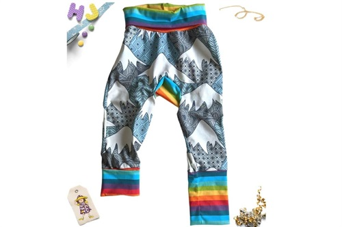 Click to order Age 1-4 Grow with Me Pants Mountain Peak now