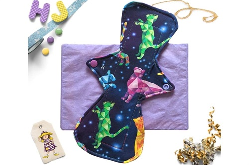 Click to order  11 inch Cloth Pad Mystic Cats now
