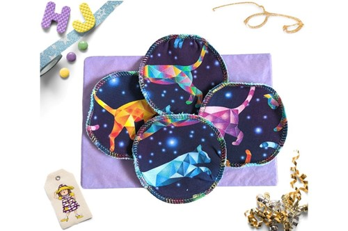 Click to order  Reusable Make Up Wipes Mystic Cats now