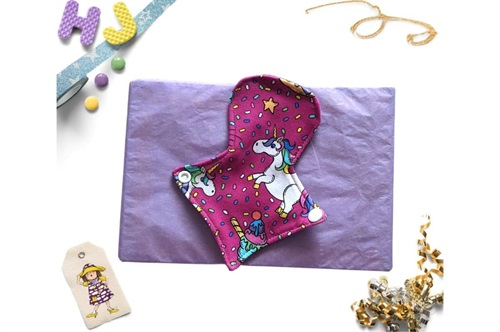 Click to order  7 inch Thong Liner Cloth Pad New Unicorns now