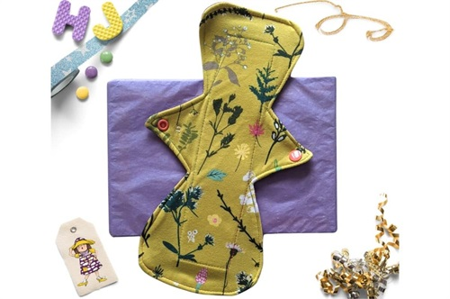 Click to order  11 inch Cloth Pad Ochre Meadow now