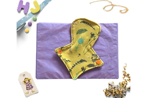 Click to order  7 inch Thong Liner Cloth Pad Ochre Meadow now