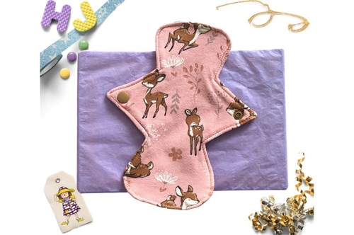 Click to order  8 inch Cloth Pad Pink Deer now