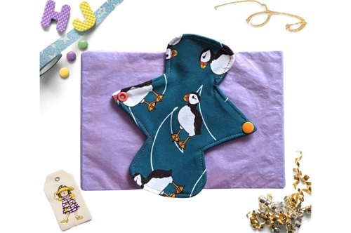 Click to order  7 inch Cloth Pad Puffins now