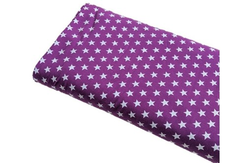 Click to order custom made items in the Purple Mini Stars fabric
