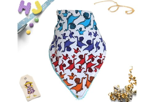 Click to order  Dribble Bib Rainbow Brian now