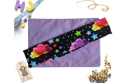 Click to order  Flat Headband Rainbow Galaxy Clouds now
