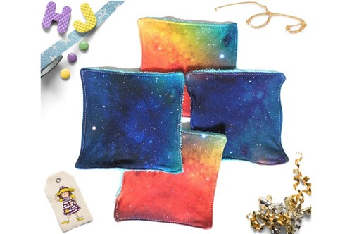 Click to order  Reusable Kitchen Towels Rainbow Galaxy DBP now