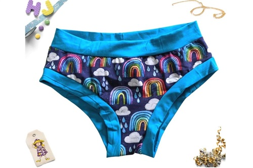 Click to order S Boyshorts Rainbows and Raindrops now