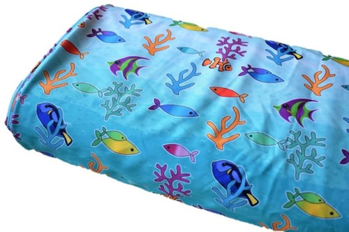Click to order custom made items in the Reef Life fabric