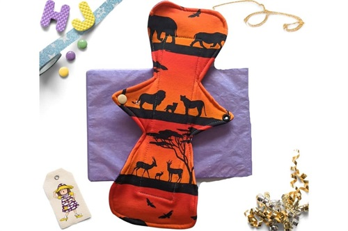 Click to order  12 inch Cloth Pad Serengeti Sunset now