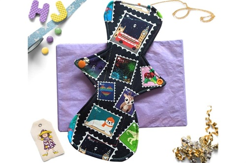 Click to order  11 inch Cloth Pad Special Delivery now