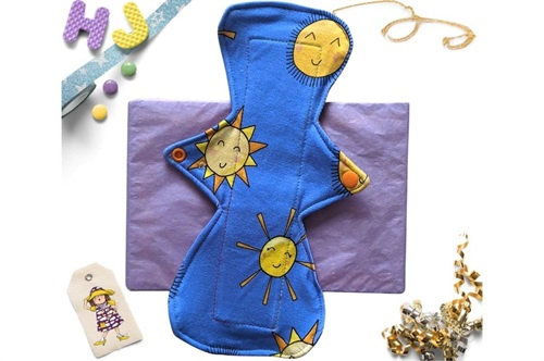 Click to order  11 inch Cloth Pad Sunshine now
