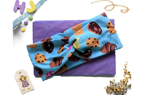 Click to order  Faux Twist Headband Sweet Treats now