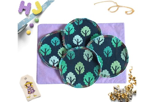 Click to order  Reusable Make Up Wipes Teal Forest now