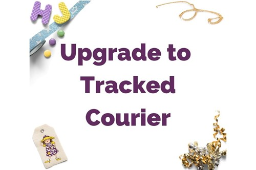 Click to order custom made Upgrade to Tracked Courier