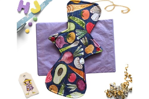 Click to order  9 inch Cloth Pad Vegetables now